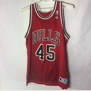 Vintage Michael Jordan #45 Champion Jersey